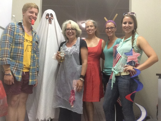 Halloween and Gail's birthday, as she reminded us of every day that week ;)